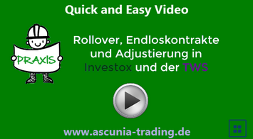 Video :: Adjustierung in Investox