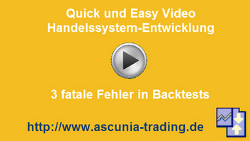 3 fatale Fehler in Backtests :: Video