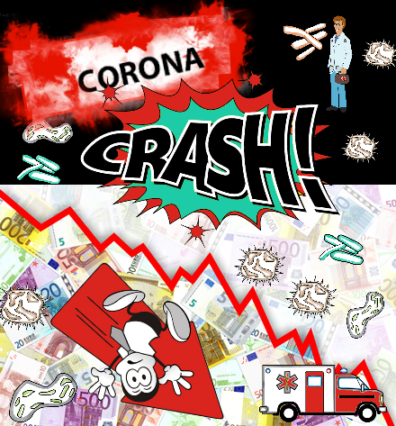 Corona Crash Boerse